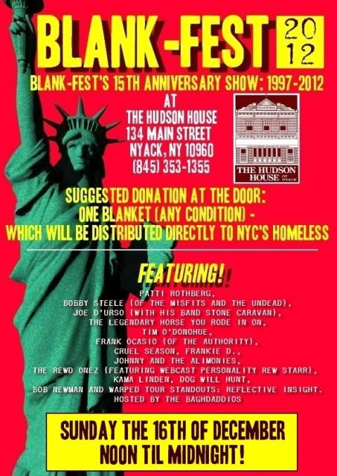 Blank-Fest 2012 semi-final for now