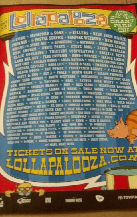 Lollapalooza-poster